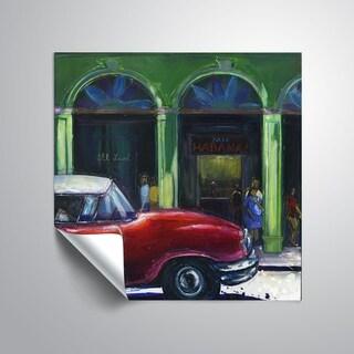 ArtWall Mica 'Café Habana' Removable Wall Art