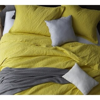 BYB Limelight Yellow Softest Stone Washed Quilt Set (3 options available)