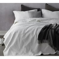 BYB White Softest Stone Washed Quilt Set