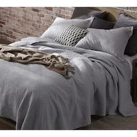 BYB Tundra Gray Softest Stone Washed Quilt Set