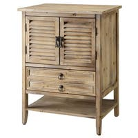 Jackson Weathered Oak 2-door Bedside Accent