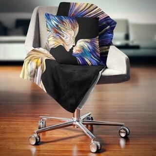Designart 'Metaphorical Mind Painting' Sensual Throw Blanket