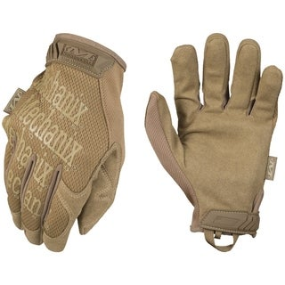 Mechanix Wear Original Covert Gloves Coyote, Medium