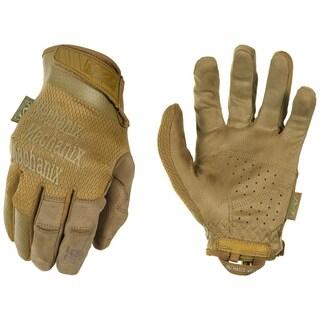 Mechanix Wear Specialty 0.5 mm Gloves Coyote, Large