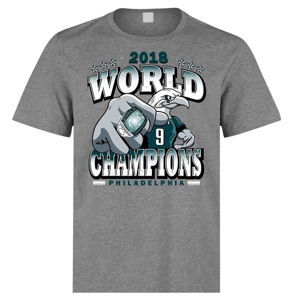 low priced f6837 13028 Philadelphia Eagles 2018 Super Bowl Champions T Shirt Limited Edition