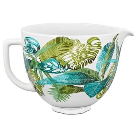 KitchenAid 5 Quart Patterned Ceramic Bowl