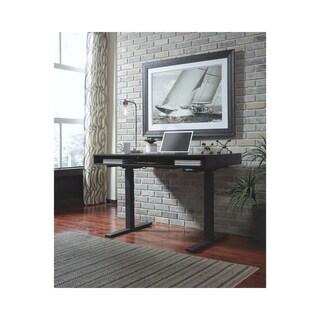 Signature Design by Ashley Laney Black Adjustable Height Desk