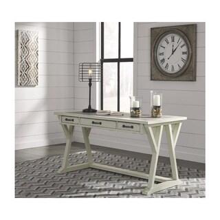 Signature Design by Ashley Jonileene White and Gray Home Office Large Leg Desk