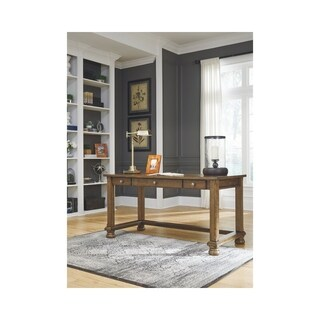 Signature Design by Ashley Flynnter Medium Brown Home Office Desk