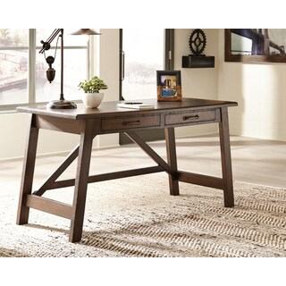 Signature Design by Ashley Baldridge Rustic Brown Home Office Large Leg Desk