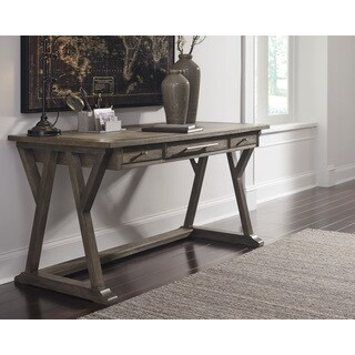 Signature Design by Ashley Luxenford Grayish Brown Home Office Large Leg Desk