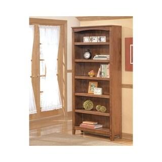 Signature Design by Ashley Cross Island Medium Brown Large Bookcase