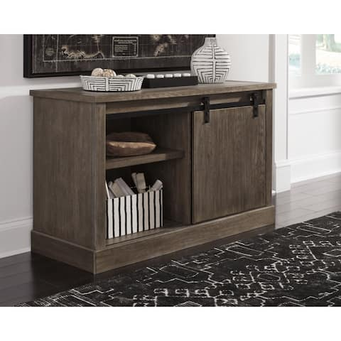 Signature Design by Ashley Luxenford Grayish Brown Large Credenza