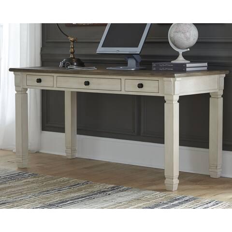 Signature Design by Ashley Bolanburg Two-Tone Home Office Desk