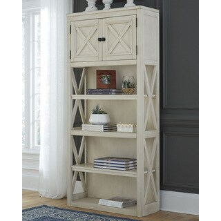 Signature Design by Ashley Two-Tone Bolanburg Large Bookcase