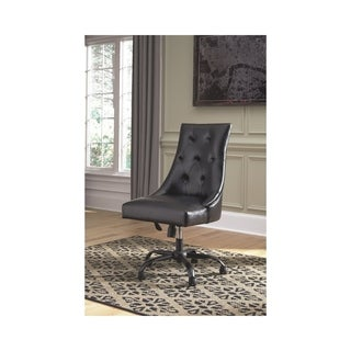 Signature Design by Ashley Office Chair Program Black Home Office Swivel Desk Chair