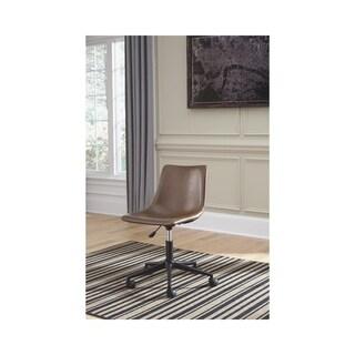 Office Chair Program Brown Home Office Swivel Desk Chair
