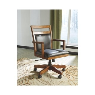 Signature Design by Ashley Lobink Brown Home Office Desk Chair