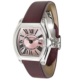 Cartier Roadster 2675 Women's Watch in Stainless Steel - N/A - N/A