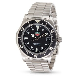 Tag Heuer Professional 2000 973.006 Men's Watch in Stainless Steel - N/A - N/A