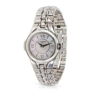 Patek Philippe Sculpture 4891/1A-001 Women's Watch in Stainless Steel