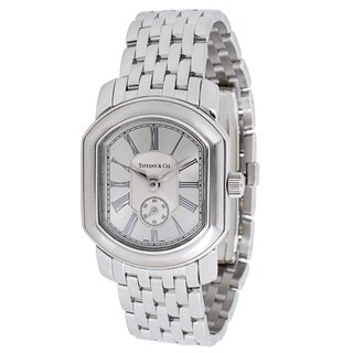 Pre-owned Tiffany & Co. Mark Coupe Resonator Mark Coupe Women's Watch in Stainless Steel