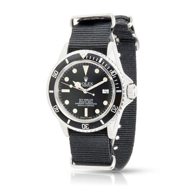 Pre-Owned Rolex Seadweller 1665 Men's Watch in Stainless Steel