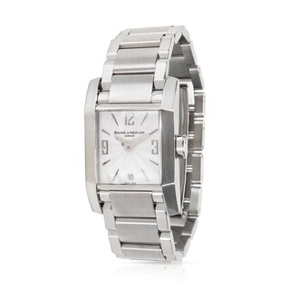 Baume & Mercier Hampton 65488 Women's Watch in Stainless Steel