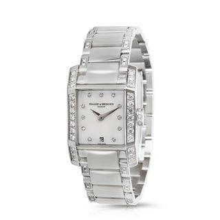 Baume & Mercier Diamant MOA08792 Women's Watch in Stainless Steel