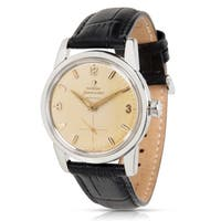 Omega  2846 Unisex Watch in Stainless Steel