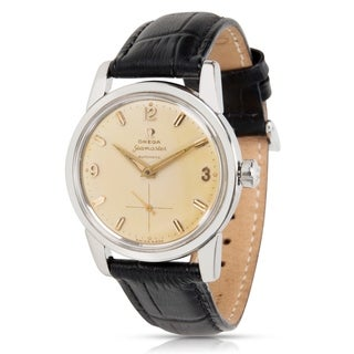 Omega Seamaster 2846 Unisex Watch in Stainless Steel - N/A - N/A