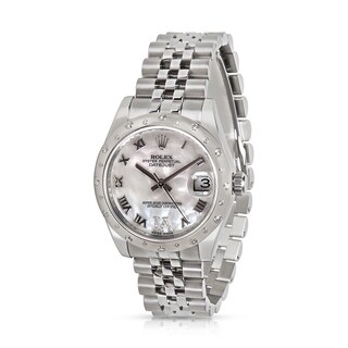 Pre-owned Rolex Datejust 178344 Unisex Watch