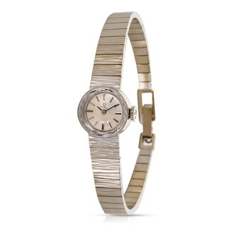Omega EE8877 Women's Watch in 14K White Gold