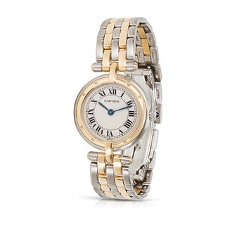 Cartier Panthere VLC 1057920 Women's Watch in Stainless Steel/Yellow Gold - N/A - N/A