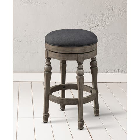 Maddox Backless Swivel Counter Stool by Greyson Living