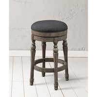 Shop Stones Amp Stripes Renate Brown And Grey Counter Stools
