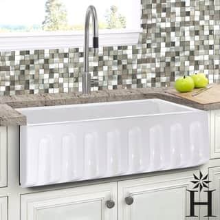 Buy Kitchen Sinks Online at Overstock.com | Our Best Sinks Deals on kitchen plans and ideas, summer kitchen designs and ideas, kitchen cabinets and ideas, outdoor entertainment designs and ideas, kitchen backsplash designs and ideas,