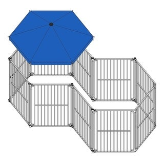 ALEKO Umbrella 60 inch Cover for Large Sized Heavy Duty Playpen