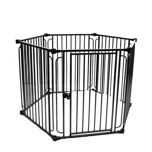 Shop Aleko 6 Panel 225 X 30 Inch Heavy Duty Modular Dog Playpen