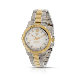 Tag Heuer Aquaracer WAF1320 Women's Watch in Yellow Gold/Steel - N/A - N/A