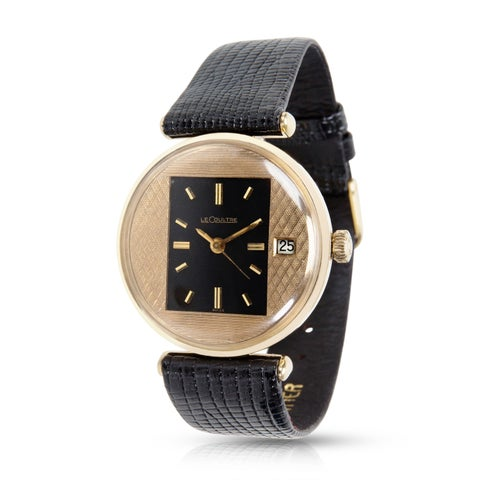 Jaeger-LeCoultre Vintage Men's Watch in Yellow Gold