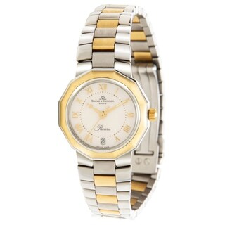 Baume & Mercier Riviera 5231 Women's Watch in Yellow Gold/Steel - N/A - N/A