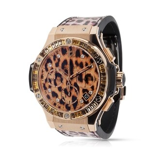 Pre-Owned LIMITED EDITION Hublot Leopard Big Bang 341.PX.7610.NR.1976 Unisex Watch