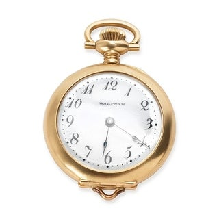 Waltham Women's Watch in Yellow Gold