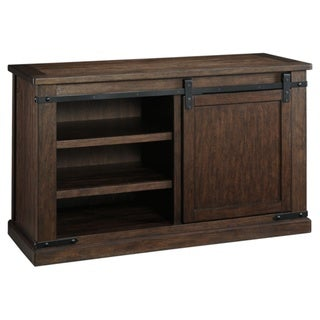 Budmore Medium TV Stand, Rustic Brown