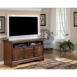 Hamlyn Medium TV Stand, Dark Brown