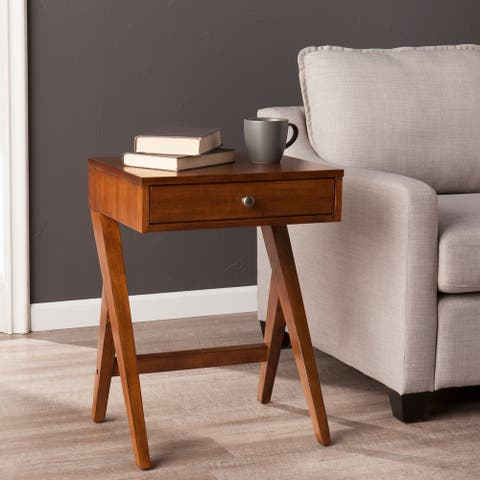 Kya Dark Sienna Side Table
