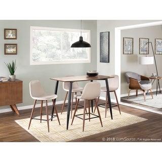 Clara Mid-Century Modern Rectangular Counter Table
