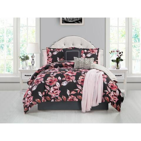 Ellen Tracy Fleur Du Jour 6-piece Comforter Bedding Set