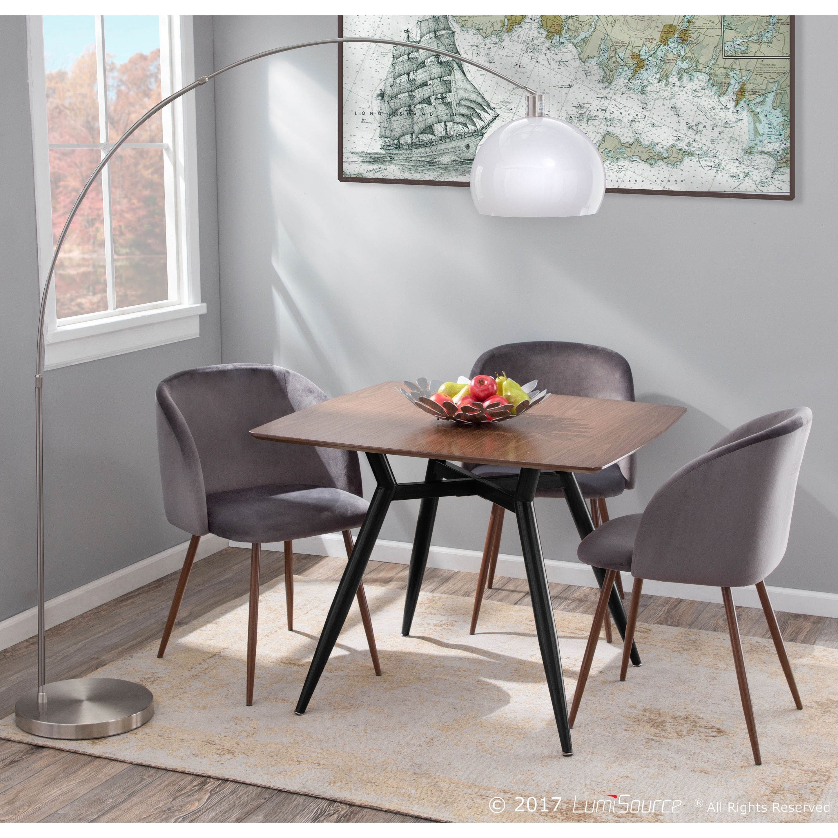Mid Century Modern Square Dining